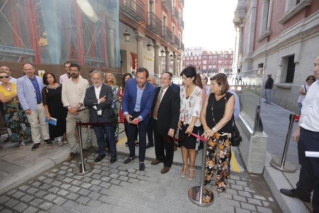 Inauguración del aparcamiento de la Plaza Mayor