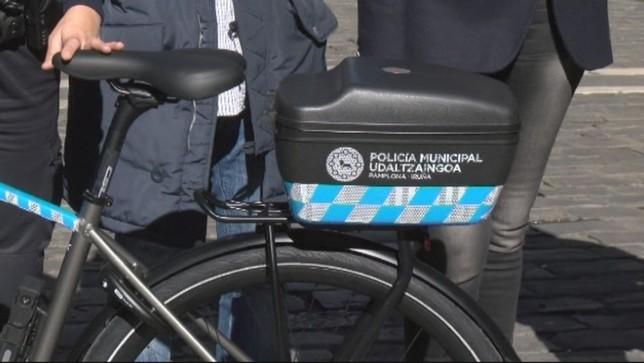Queda suspendido el servicio de 'bicipolis' en Pamplona ARCHIVO