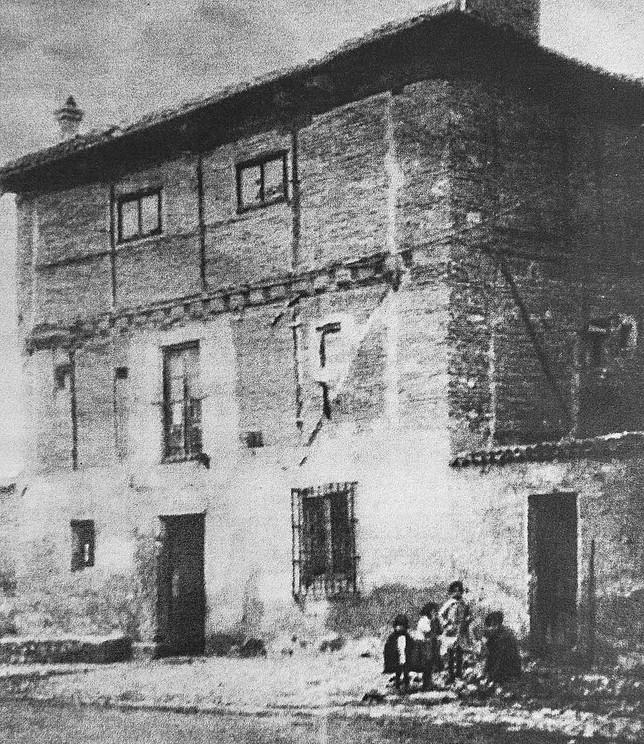 Fotografía antigua del inmueble.