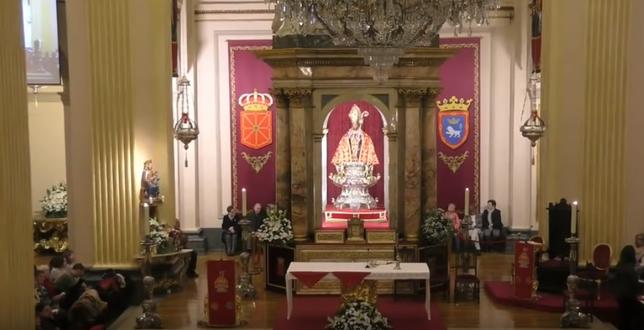 [DIRECTO] Sexta misa de la 'escalerica' de San Fermín