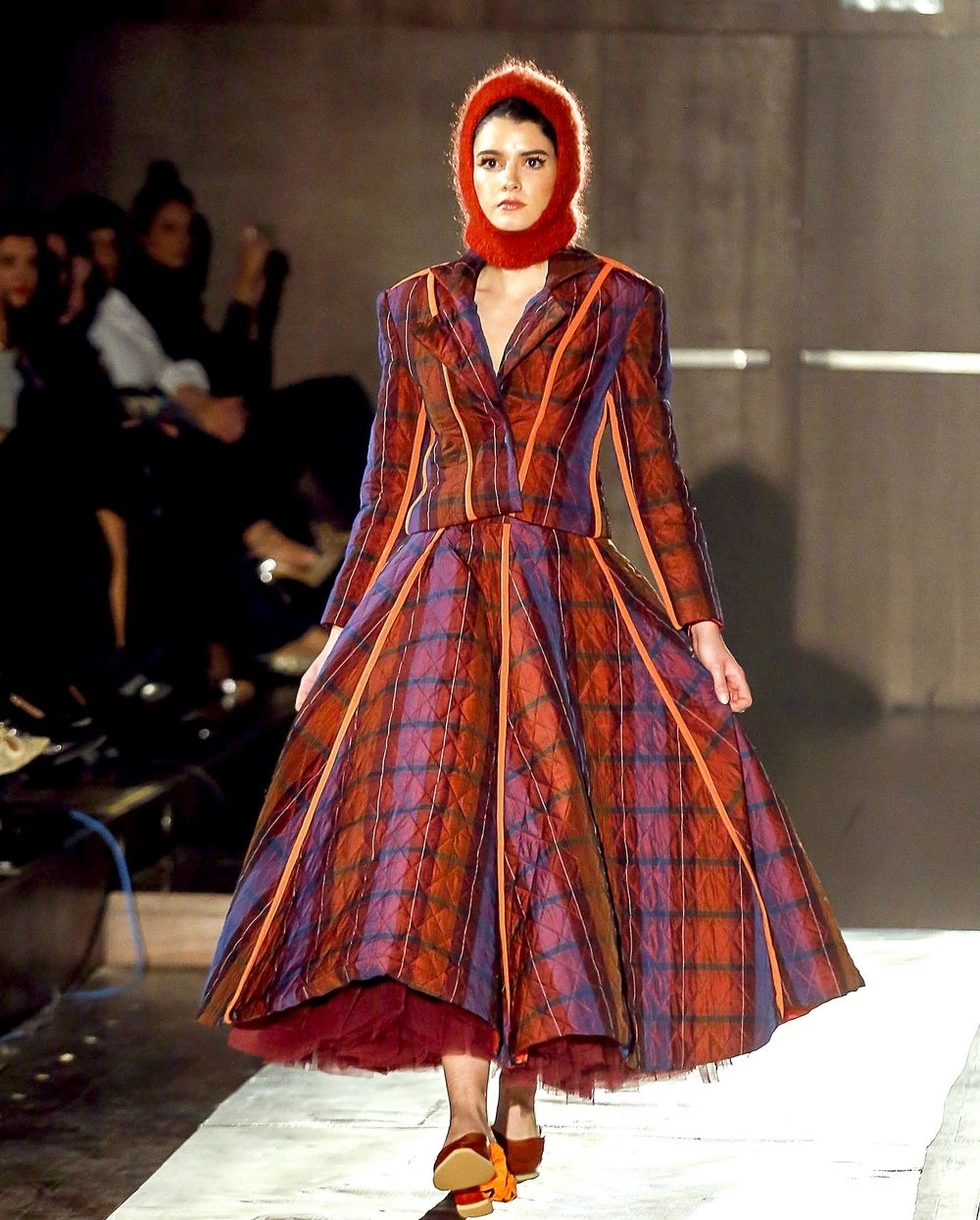 La diseñadora cordobesa Beatriz Peñalver volvió a demostrar su originalidad.