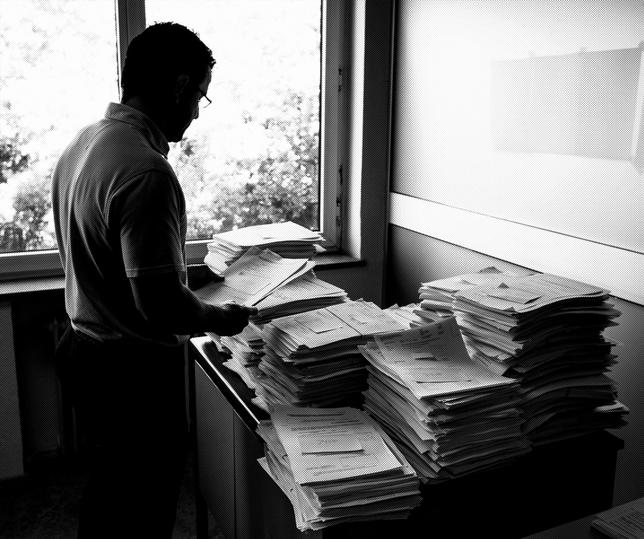 El caos de la oficina judicial paraliza 650 asuntos al mes