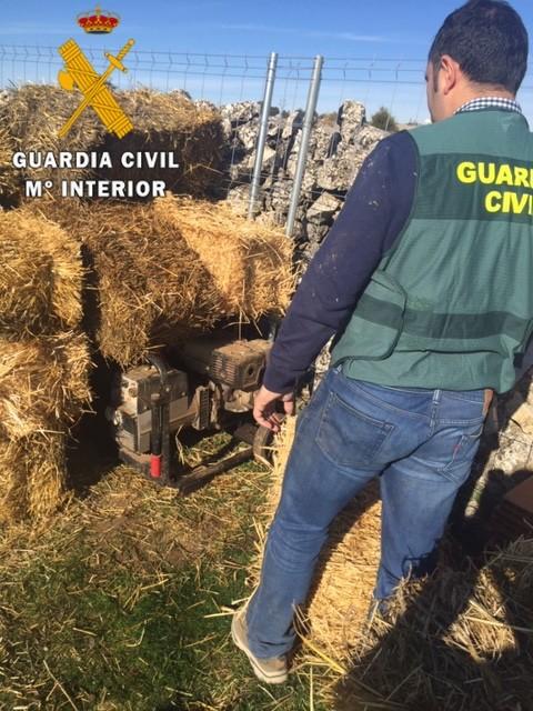 Dos detenidos por robos en la zona de Sepúlveda