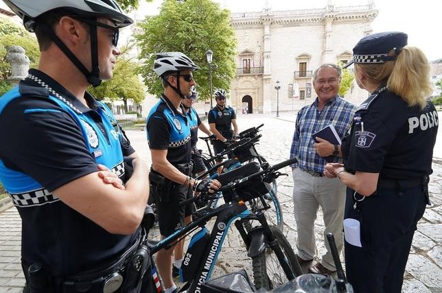 Valladolid promoverá el uso del casco en la bicicleta