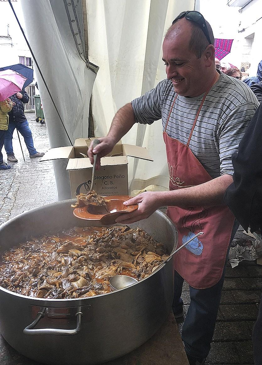 Platos y tapas con sabor a monte en Fuencaliente