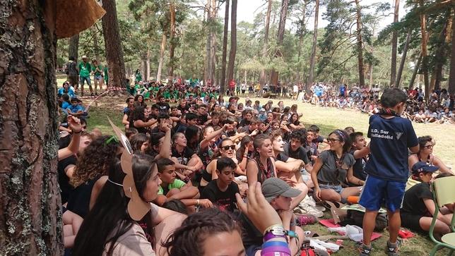 Los scouts invaden Covaleda