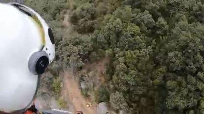 Rescatada una excursionista perdida en Zuñiga