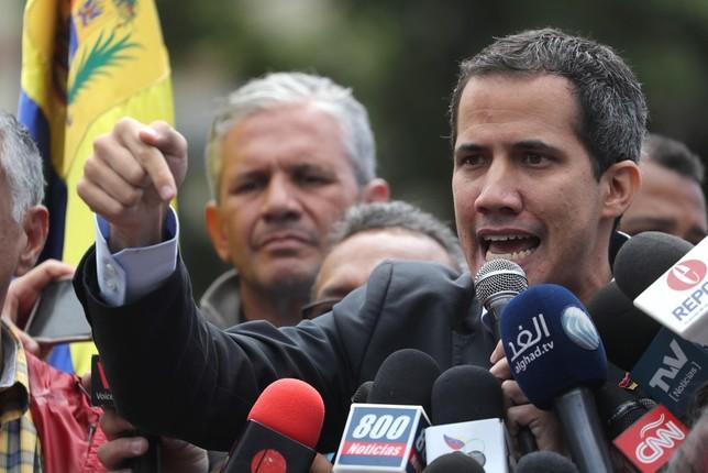 Guaidó da un ultimátum al ejercito Miguel Gutiérrez