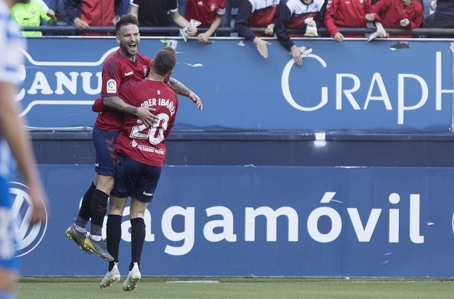 El valenciano ha marcado siete goles en su única temporada en Pamplona