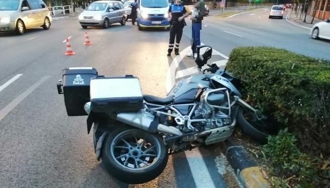 Detenido un ciclista por ir drogado y ponerse violento