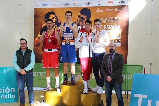 El Club Boxeo Valladolid, campeón de España por clubes