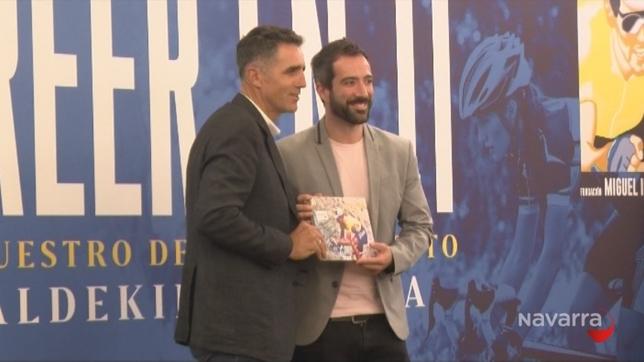 Navarra Televisión lleva años colaborando con la Fundación Miguel Induráin