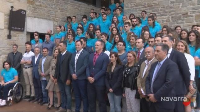 Fundación Miguel Induráin beca a 152 deportistas navarros NATV