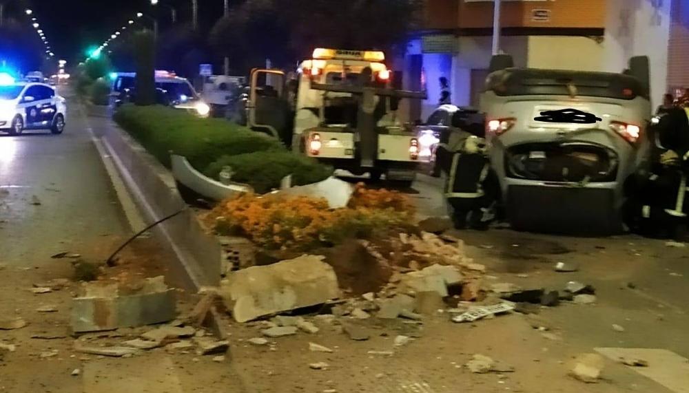 El accidente en la carretera de Jaén