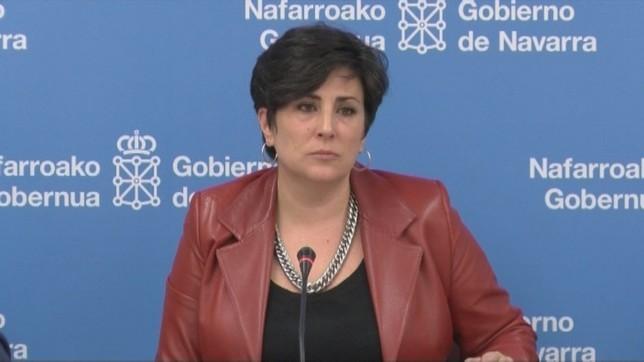 María Solana en la rueda de prensa posterior el Consejo de Gobierno