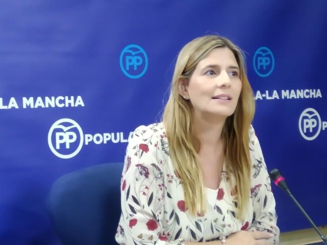 Carolina Agudo, secretaria regional del PP.