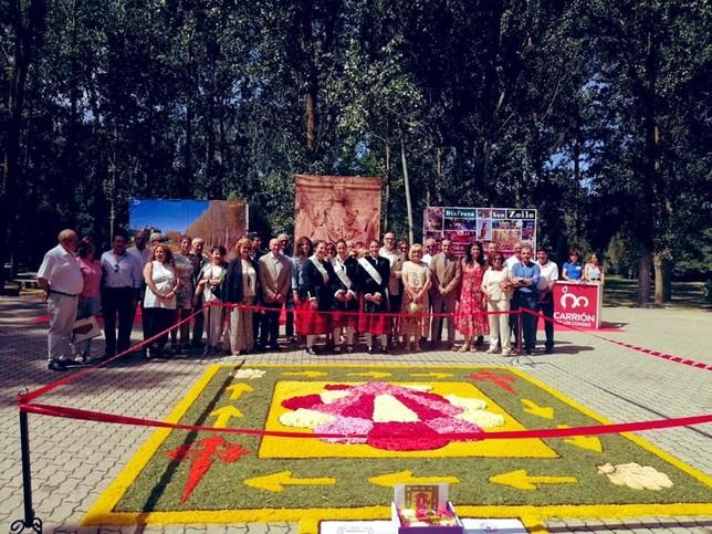 La Junta promociona los caminos a Santiago en Carrión