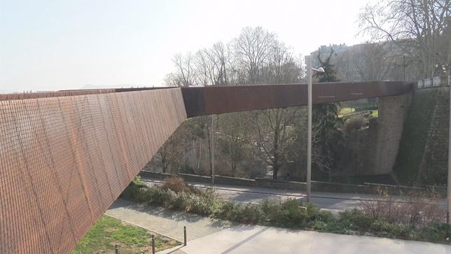 La pasarela de Labrit se empezará a desmontar en un mes