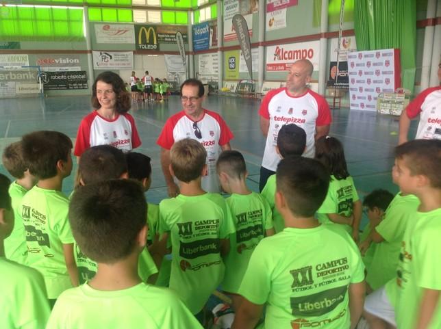 Primer día del Campus Deportivo de Bargas