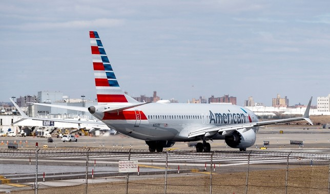 El avión estrella de Boeing, el 737 MAX, en horas bajas JUSTIN LANE