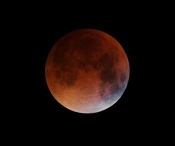 El cielo de Navarra lucirá un eclipse parcial de Luna