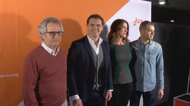 Rivera ha estado en Pamplona en el 'campus joven', un acto nacional de Ciudadanos NATV