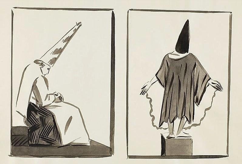 El dibujo 'Aquellos polvos… estos lodos'.