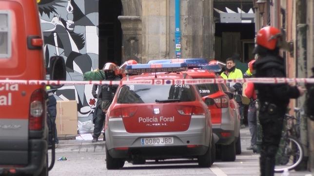 Los técnicos y la policía han entrado de madrugada al Palacio Rozalejo