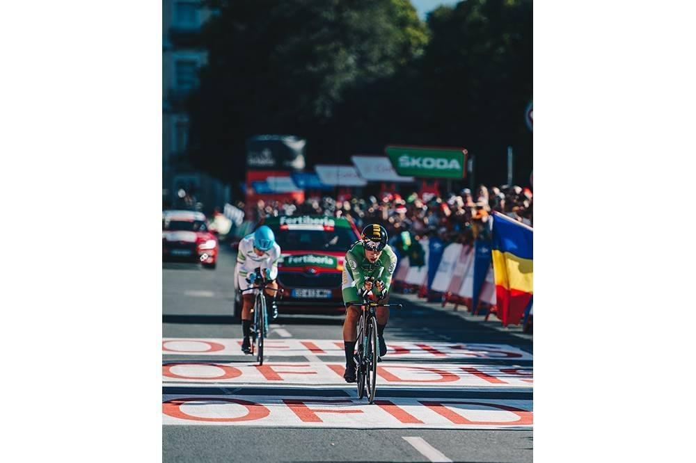 La Vuelta llega hoy a Navarra, con meta en Dantzarinea