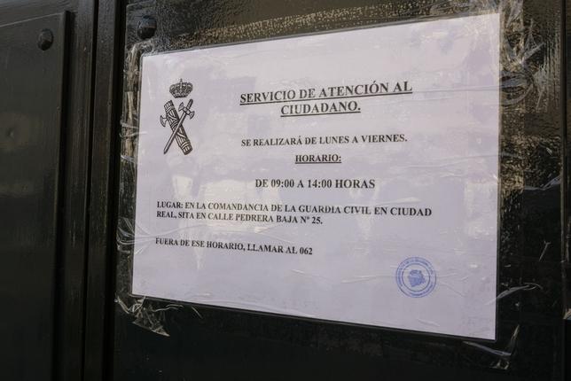 El PP denuncia que Miguelturra se queda sin Guardia Civil Tomás Fernández de Moya