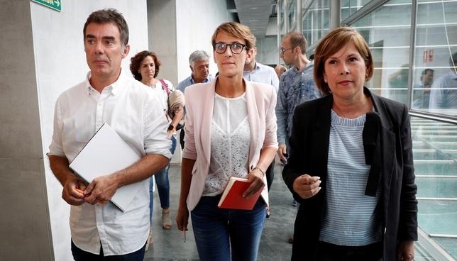 PSN, Geroa Bai y Podemos acuerdan un Gobierno de coalición