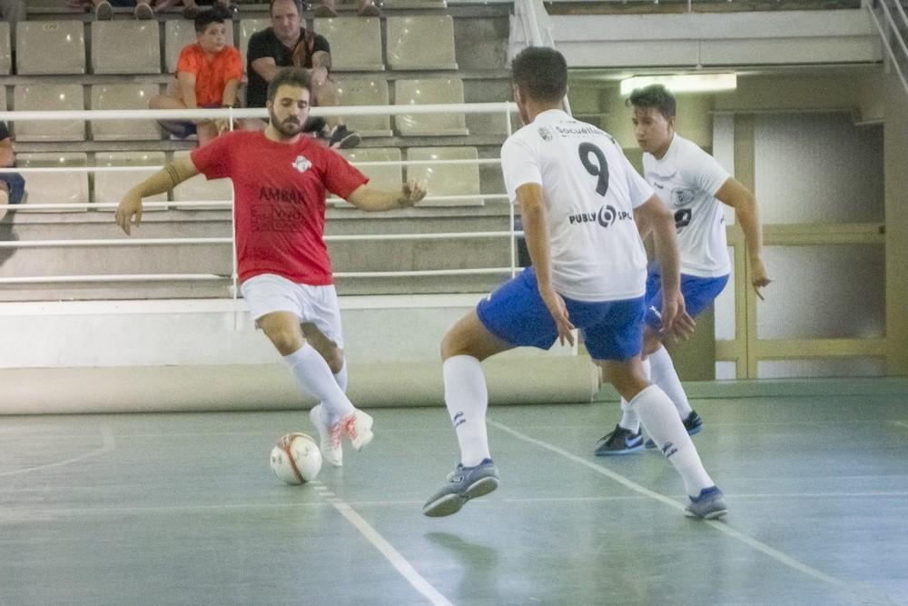 FS VivoCuenca empata su tercer amistoso en Socuéllamos (3-3)