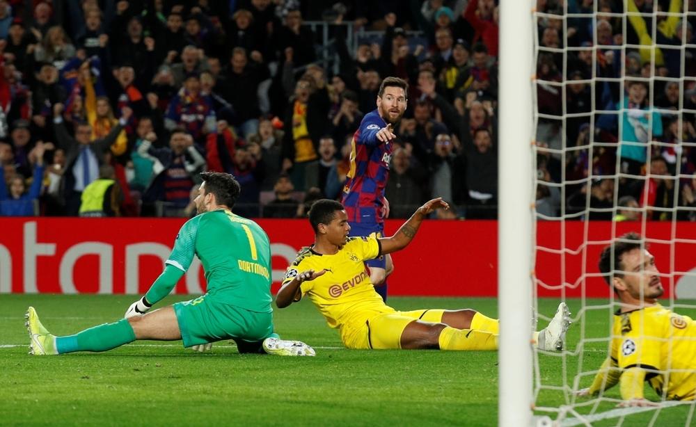 El Barcelona anula al Dortmund