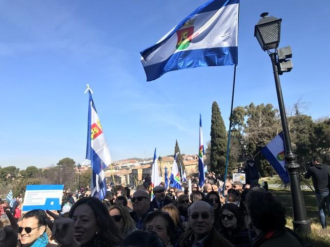 Talavera exige inversiones con una manifestación en Toledo
