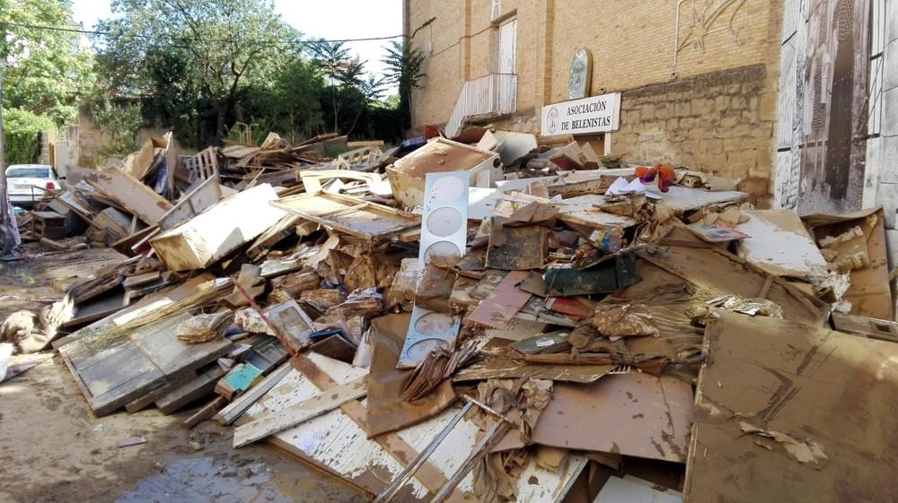 3,4 millones para reparar los daños de las inundaciones
