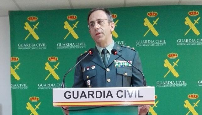 El teniente coronel Jesús Manuel Rodrigo E.F.
