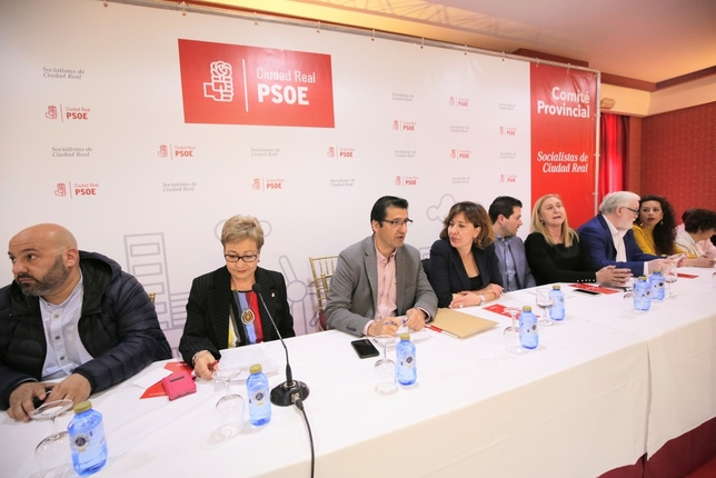 Fernández y Martín, encabezan una candidatura  Fotos Rueda Villaverde