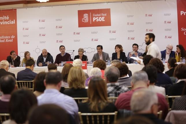 Fernández y Martín encabezan una candidatura  Fotos Rueda Villaverde