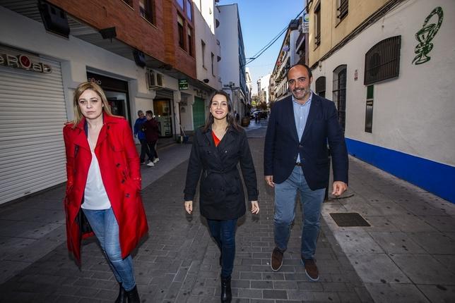 Fernández-Bravo, número 1 al Congreso por Ciudadanos Rueda Villaverde