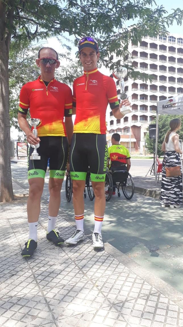 Podios manchegos en la Copa de España de Ciclismo Adaptado
