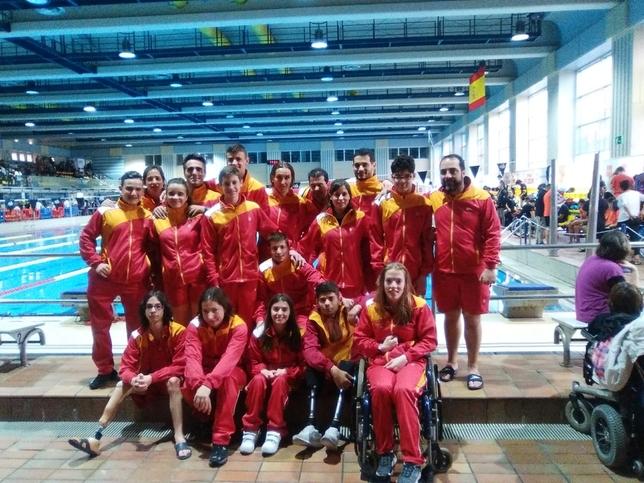 Huerta logra la mínima del Mundial de Natación Paralímpica