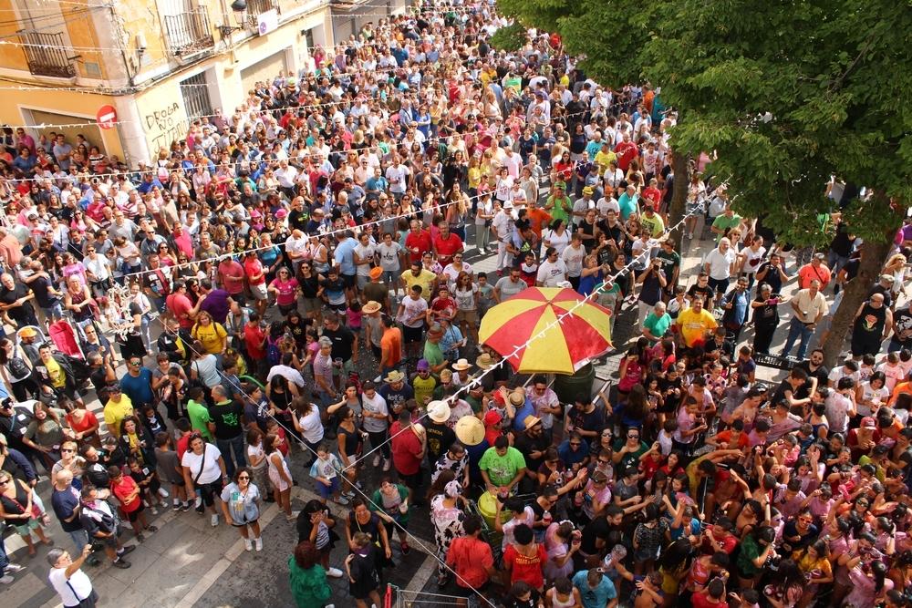 El 'cobete' marcó el inicio de las fiestas en Tarancón