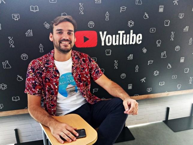 El 'profe' de Historia 'youtuber'