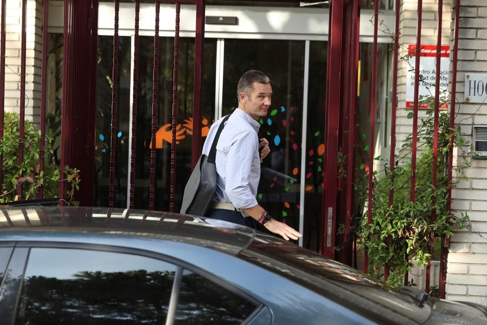Urdangarin sale por primera vez de la cárcel de Brieva