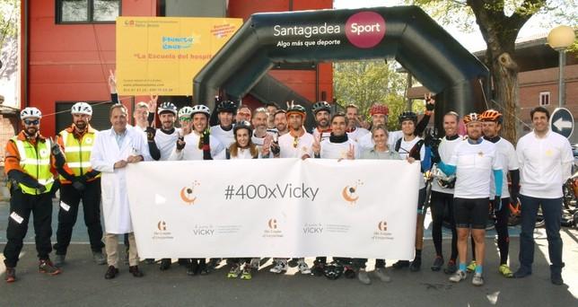 La primera etapa del reto '400xVicky' llega a Tarancón