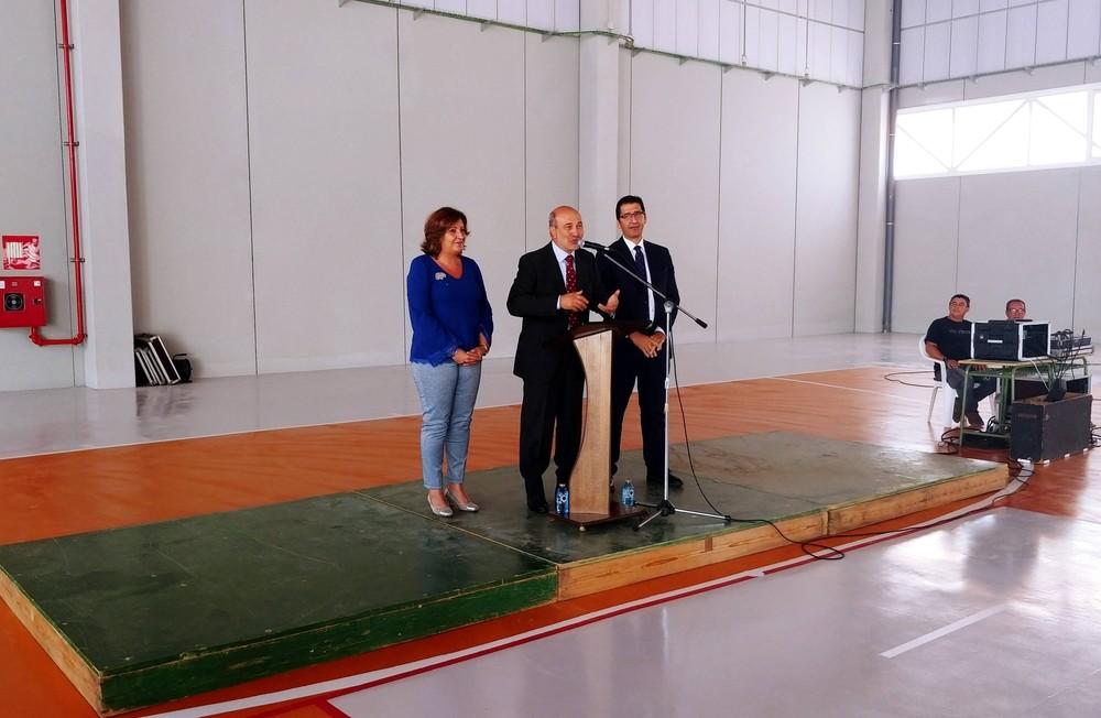 Piedrabuena inaugura su nuevo pabellón multifuncional