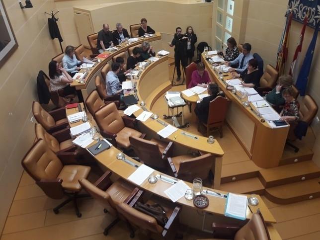 PP, Centrados e IU abandonan  el debate de gestión de 2018