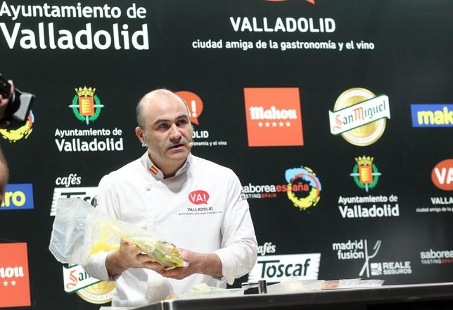 Valladolid se exhibe en Madrid Fusión JUAN LAZARO