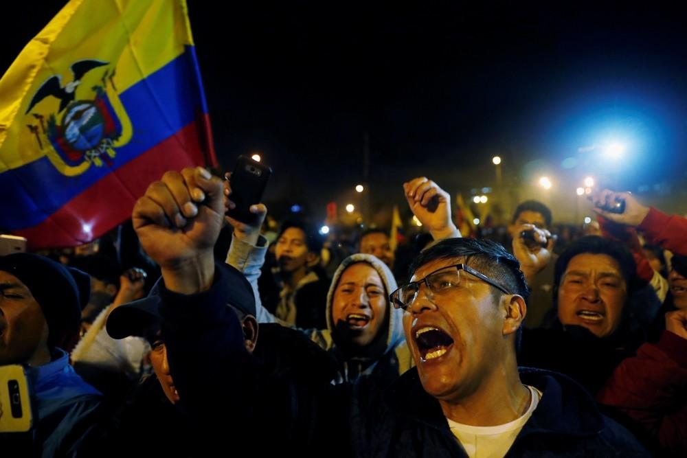 Moreno y los indígenas llegan a un pacto para recuperar la paz