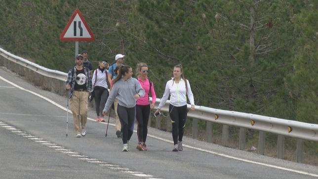 Miles de peregrinos hacia Javier